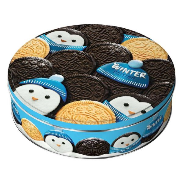 Oreo Biscuits Winter Selection Penguin Tin 396g